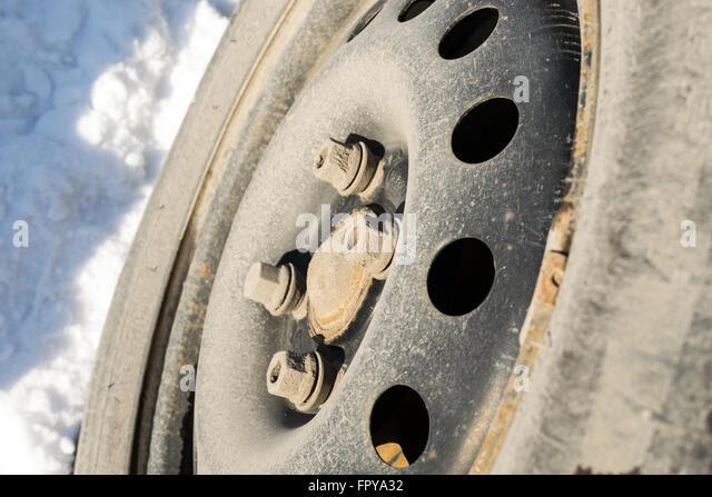 Car Tire Tread Worn Stock Photos Car Tire Tread Worn Stock Images Alamy