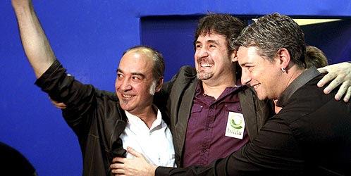 Bildu supera todas las previsiones y se convierte en la segunda fuerza política de Euskadi