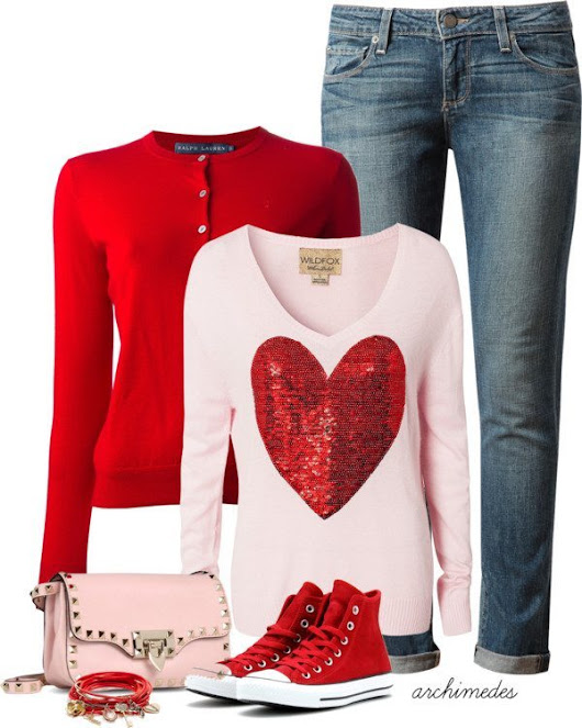 Image: 25 Great Ideas of Valentines Day Outfits from Polyvore - Be Modish