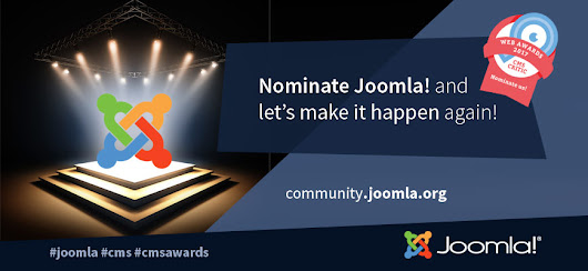 The CMS Critic Awards - Nominate Joomla! today!!