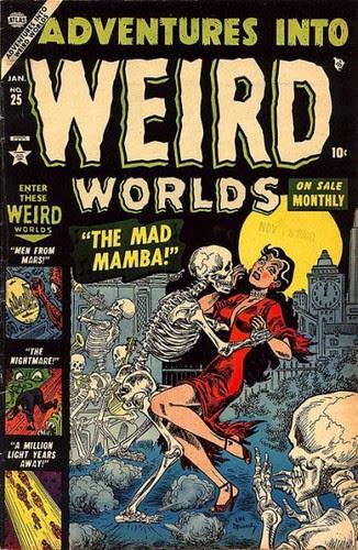 Adventures Into Weird Worlds 25 cov