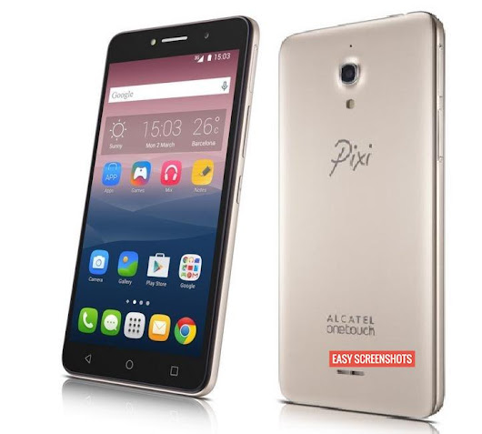 How To Capture Screenshot on Alcatel Onetouch Pixi 4