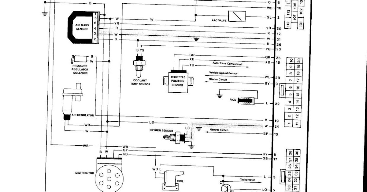 Nissan Electrical Wiring Diagram