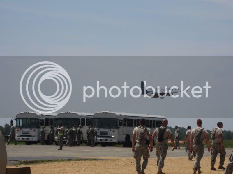 82nd airborne paratrooper jump