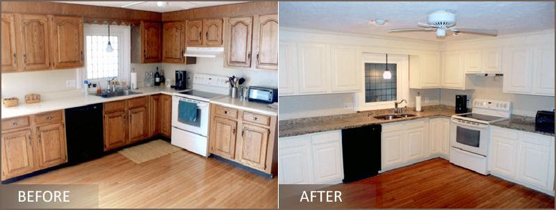 Pictures for Cabinet Refinishing by Kenneth C. Lewis in ...