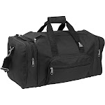 "Everest 20"" Small Classic Gear Bag Black"