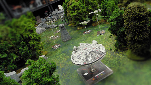 "Playing a Hypothetical Star Wars ""Battle of Endor"" on the Tabletop 