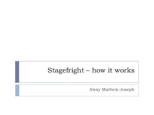 A slightly deeper dive into Stagefright