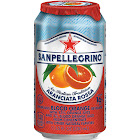 Sanpellegrino Aranciata Rossa Sparkling Blood Orange Beverage 12-11.15 fl. oz. Cans