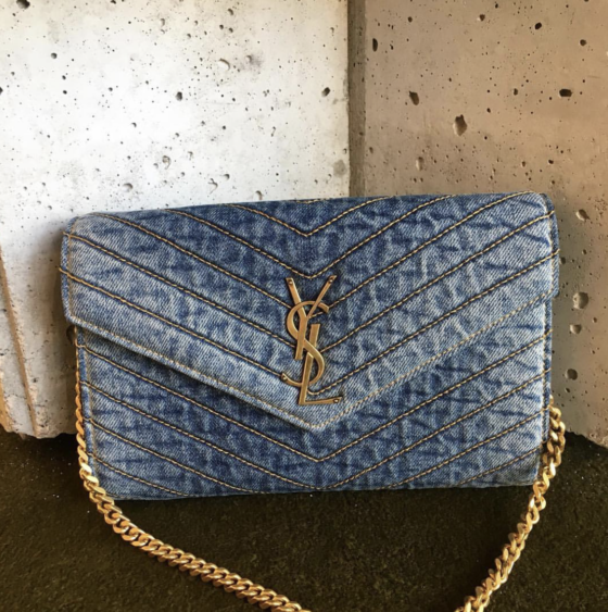 Bomb_Product_of_the_Day_Denim_Monogramme_Quilted_YSL_Shoulder_Bag