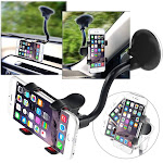 Insten Universal Car Mount Suction Phone Holder for Cell Phone Smartphone iPhone