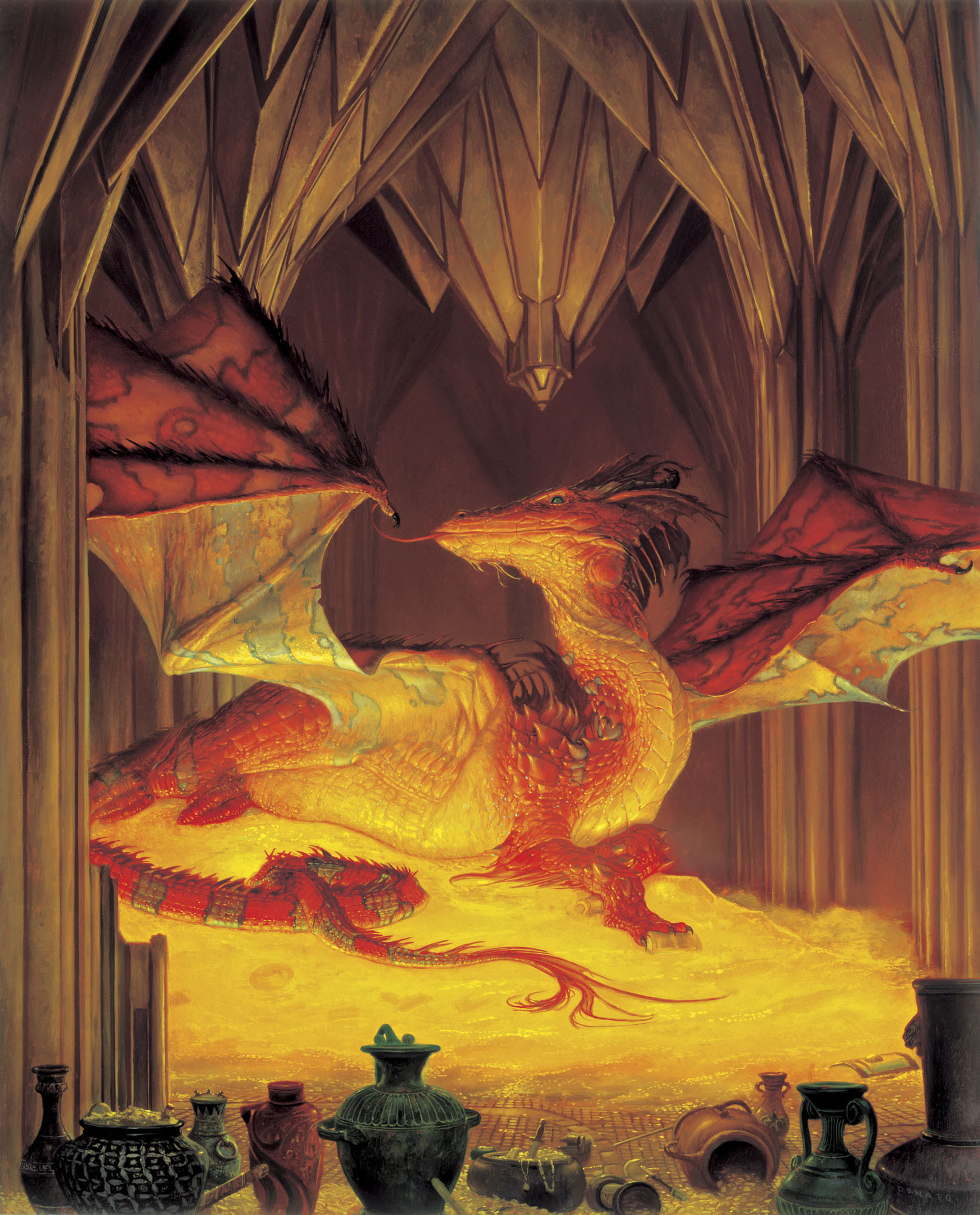 Image result for smaug images