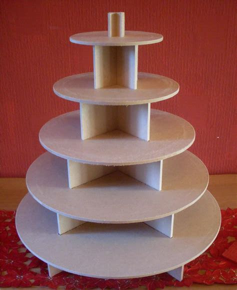 5 TIER ROUND CUPCAKE PARTY WEDDING CAKE / BUFFET STAND   eBay