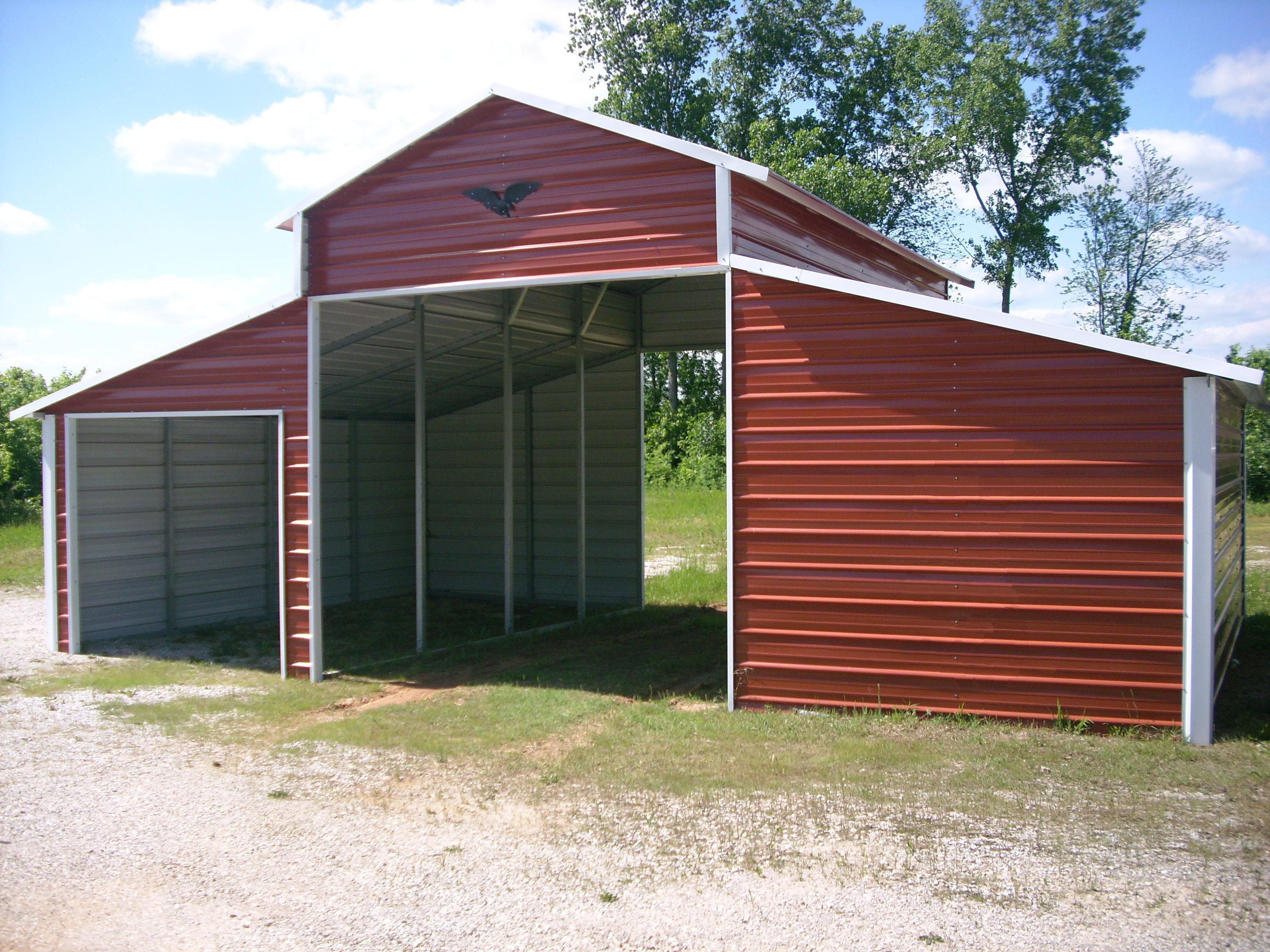 Metal Buildings & Carports - Kingdom Builders