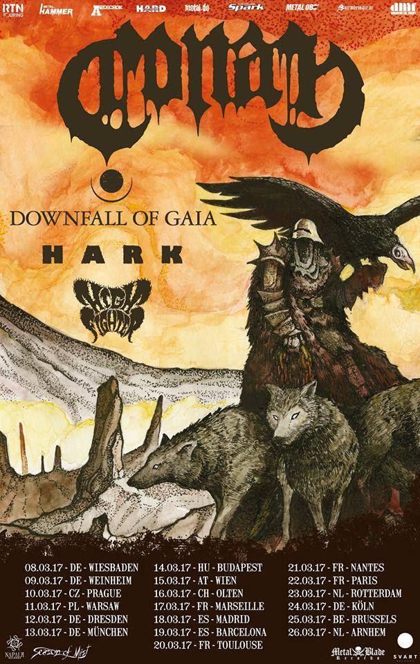 Conan's European Tour Poster