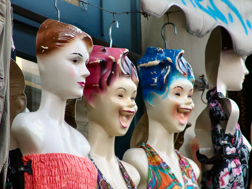 Scary Athens Mannequins