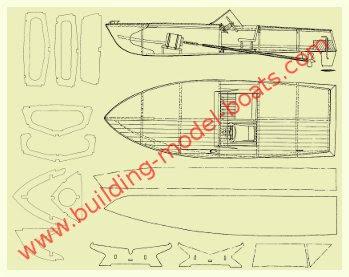 Model Ship Plans for Building Plank-on-Bulkhead Models