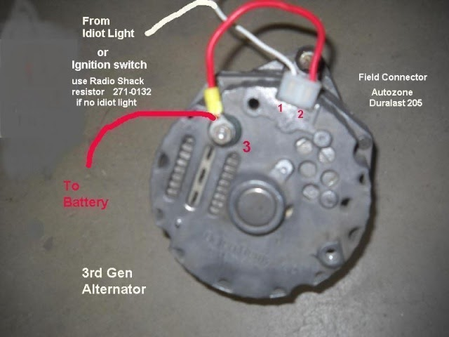 gm 1 wire alternator wiring diagram - wiring diagram  wiring diagram