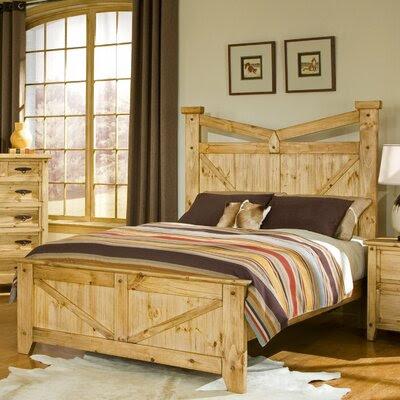 Harden Manufacturing Bear Creek Panel Bedroom Collection   Wayfair