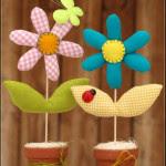 Tutorial Come cucire fiori imbottiti in stoffa