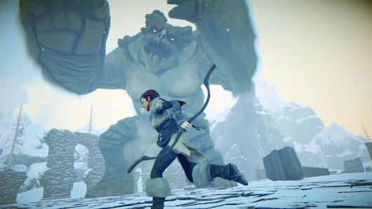 Watch gameplay from Shadow of the Colossus spiritual successor Prey for the Gods