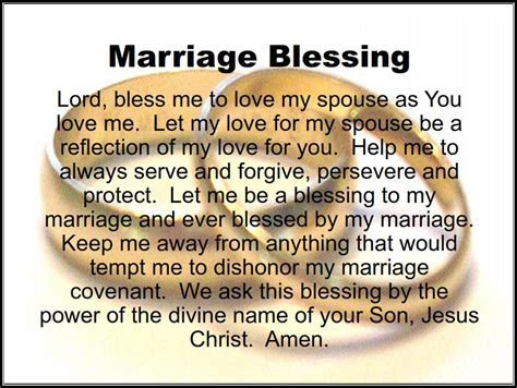 The Marriage Blog: A Marriage Blessing