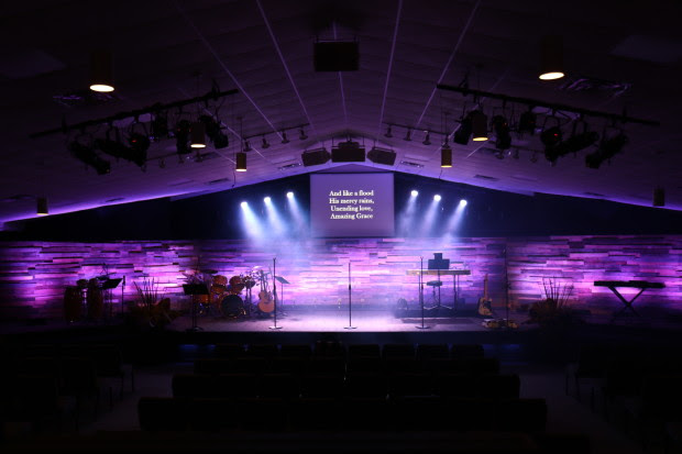 simple church stage design ideas