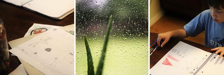 rainy afternoon.