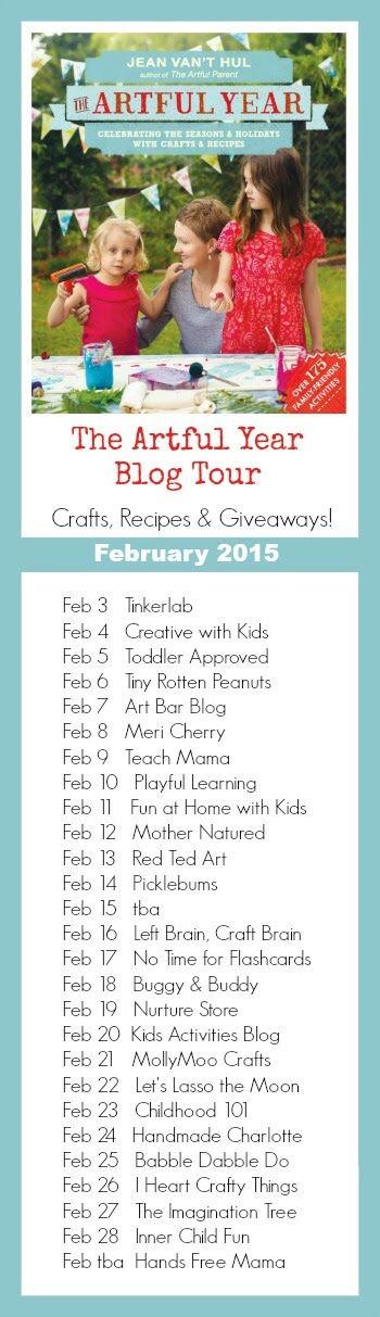 The Artful Year Blog Tour February 2015