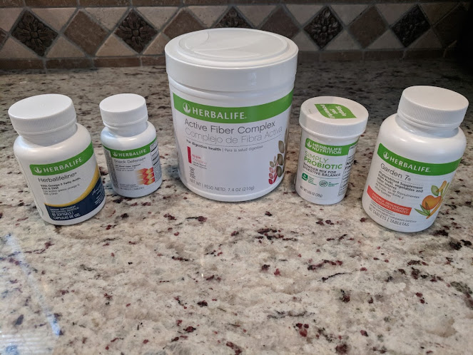 Herbalife Order for Gut Health Support