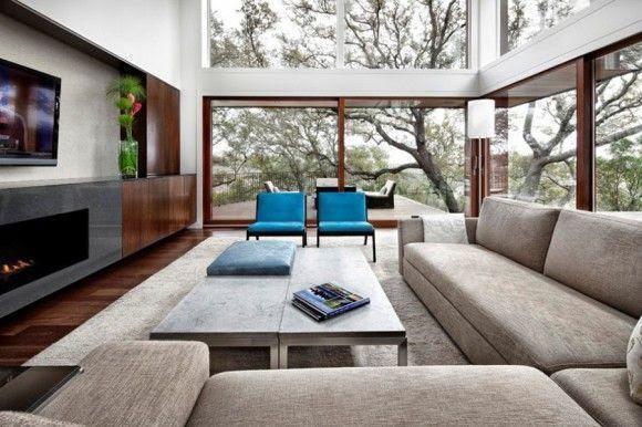 Cómo decorar una Sala o Living Room 9 580x386 Cómo decorar una Sala o Living Room   Diseño Interior Inspiración
