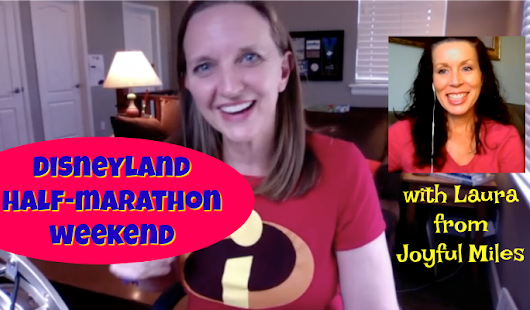 Disneyland Half Marathon Official Digital Event Guide Chat and Meet-Up