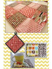 Pot Holder Quilting Patterns - Quilted Pot Holder Patterns - Page 1