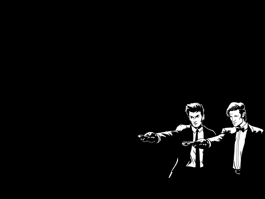 A Homemade Wallpaper For Fans Of Pulp Fiction Star Wars And Daft