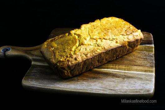 Home Made Corn Bread (Easy Recipe) - Milanka's Fine Food