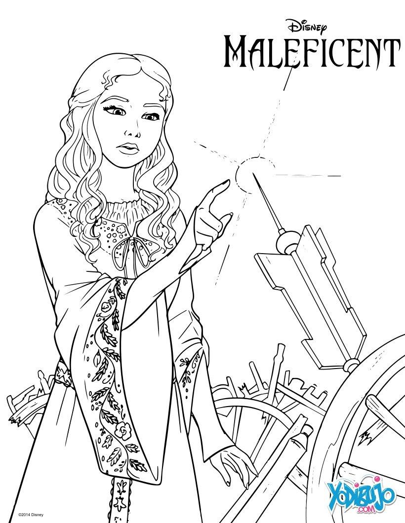 Dibujos Para Colorear La Bella Durmiente Para Imprimir Es
