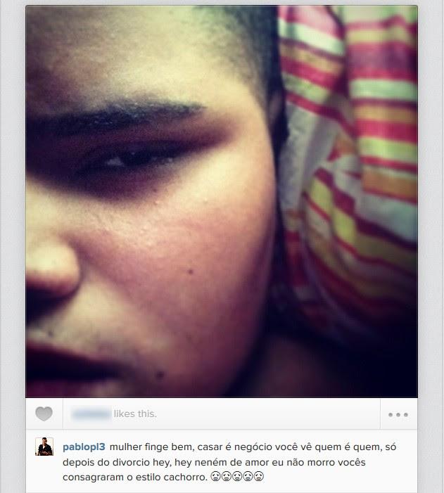 Pablo, filho de Naldo (Foto: Instagram / Reprodução)