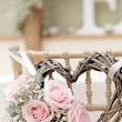 {Wedding Decor Inspiration} Pale Pink & Grey Chair Decoration  | Love Wed Bliss