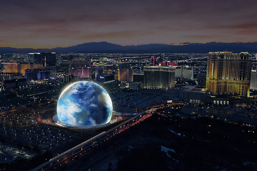 Las Vegas residents get their first look at MSG Sphere tech