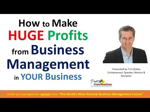 Business Management Skills Training to Increase Profit Margins for FREE | Business Courses Online