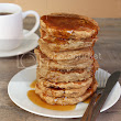 Earl Grey Vanilla Tea Pancakes with Honey Tea Syrup | Once Upon a Cutting Board