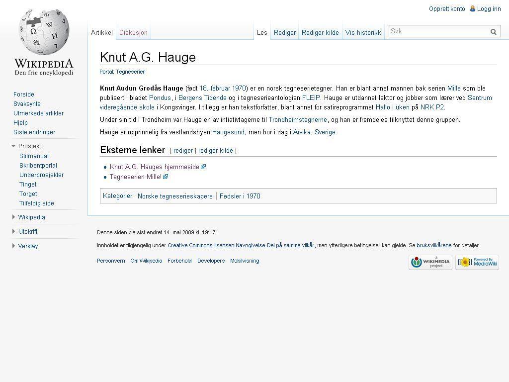 wiki hauge