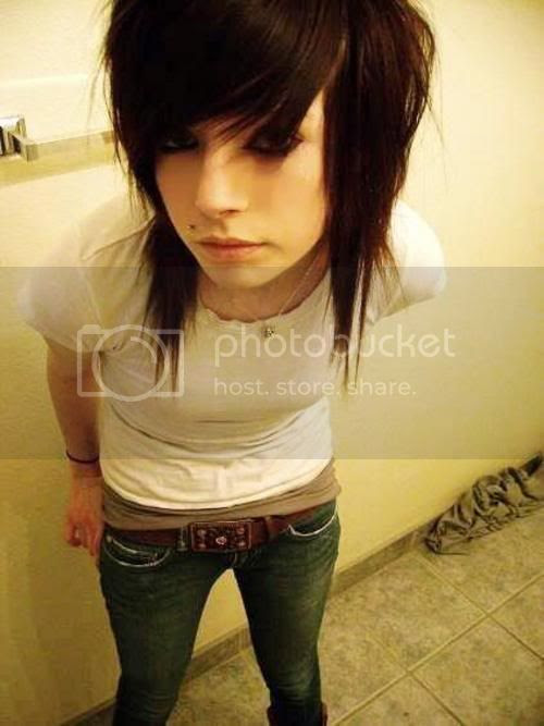 Scene Emo Hair Hairstyle Black Photo by xvballbabe874x