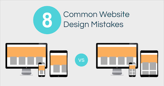 8 Common Website Design Mistakes