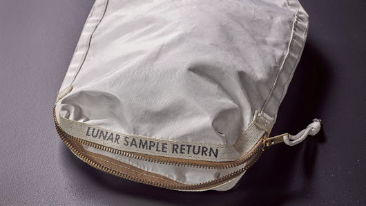 Bag containing moon dust from Apollo 11 expected to sell for millions at auction - ABC News