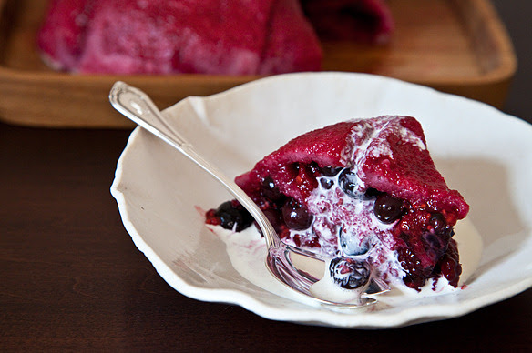 The only way to improve on bread is to make it into a dessert.Read more