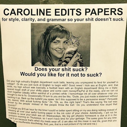 Students! You Need Caroline! - The Poke