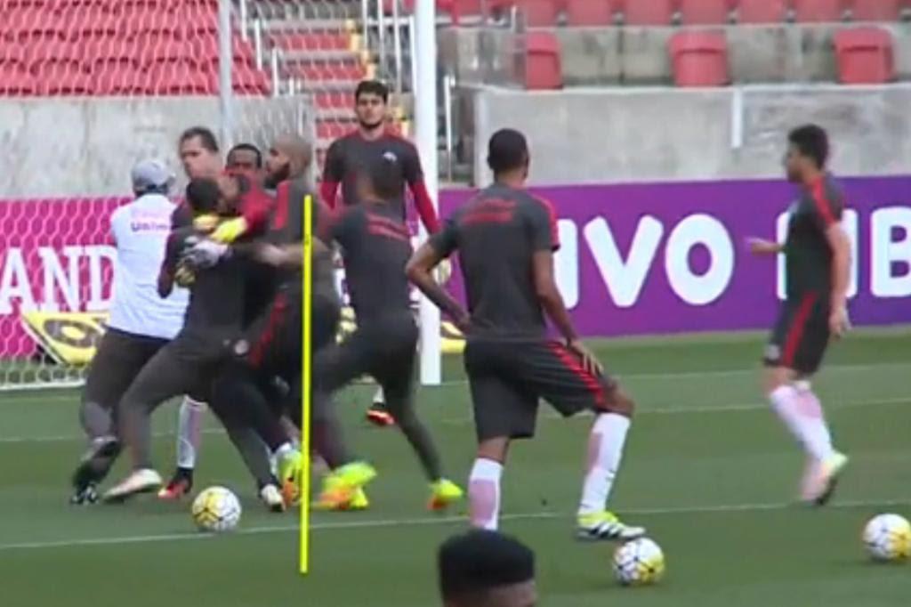 Direção do Inter anuncia nesta segunda punições a Anderson e William Reprodução/ESPN/