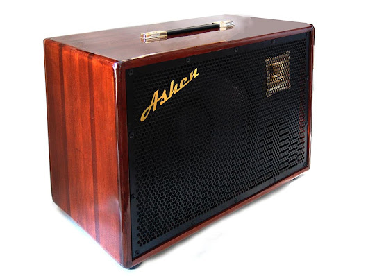 "Ashen Amps ""Woody"" 112 Custom Lightweight Redwood Bass Cabinet 250 W / 8 Ohms / 25 lbs"