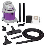 Shop-Vac - All Around Wet/Dry Canister Vacuum - Purple/Gray